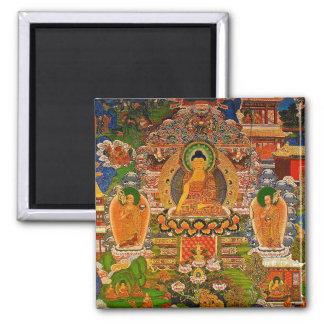 Imã Budismo budista de Buddha que abençoa o Bohemian