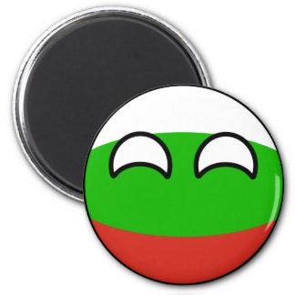 Imã Bulgária Geeky de tensão engraçada Countryball