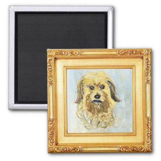 Imã Cabeça de um cão por Claude Monet