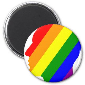Imã Cabeça do arco-íris