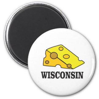 Imã Cabeça do queijo de Wisconsin