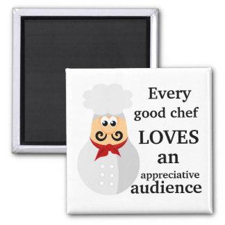 Imã Cada bom presente do cozinhar do cozinheiro chefe
