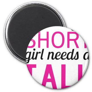 Imã cada menina curta precisa um bestfriend alto