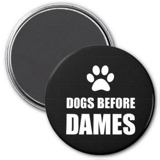 Imã Cães antes das damas Engraçado