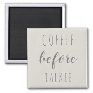 Imã Café antes do ímã da casa da quinta do Talkie