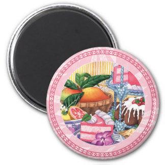 Imã Café da ilha - sobremesa do Chiffon da goiaba