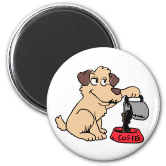 Imã Café do serviço do cão