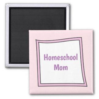 Imã Caixa roxa legal com mamã de Homeschool