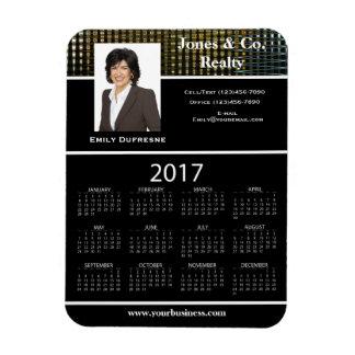 Ímã Calendário II da propaganda/promocional 2017 de