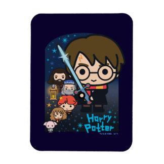 Ímã Câmara de Harry Potter dos desenhos animados dos