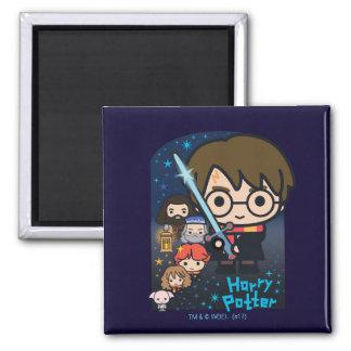 Imã Câmara de Harry Potter dos desenhos animados dos