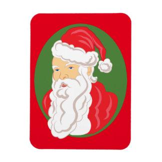 Ímã Cameo de Papai Noel do Natal