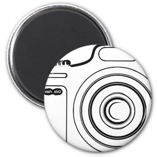 Imã Câmera preto e branco