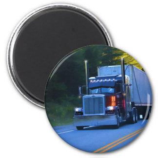 Imã Camionistas, arte grande do caminhão da carga do