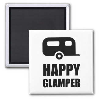Imã Campista feliz de Glamper