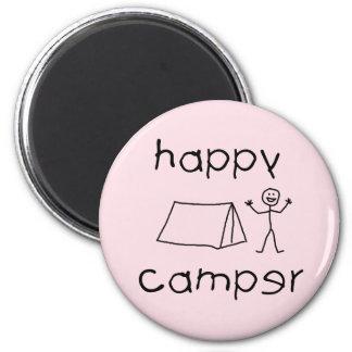 Imã Campista feliz (preto)