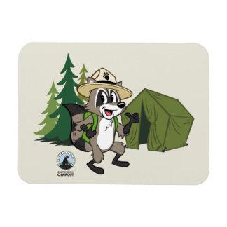 Ímã Campout americano do rick | da guarda florestal