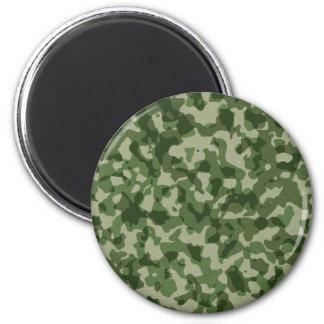 Imã Camuflagem militar do verde da selva