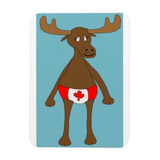 Ímã Canadense, Eh? Alces