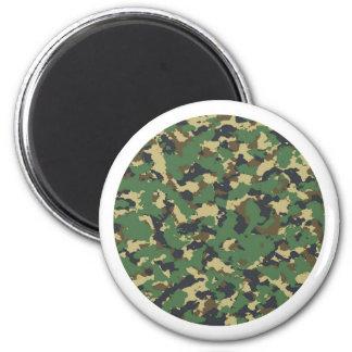 Imã Capa  Camuflagem verde