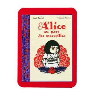 Ímã Capa do livro de Alice do francês