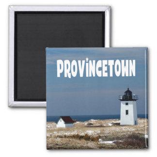 Imã Cape Cod, farol de Provincetown Massachusetts