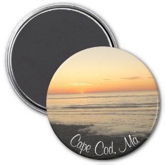 Imã Cape Cod, ímã da lembrança do por do sol de