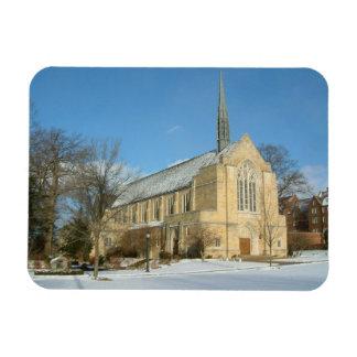 Ímã Capela de Harbison no inverno na faculdade da