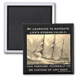 Imã Capitão de algum navio