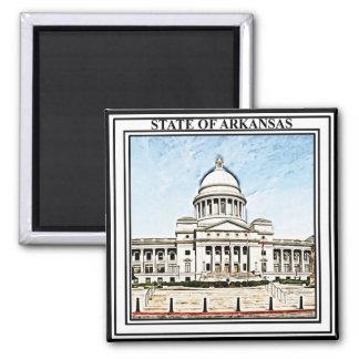 Imã Capitólio do estado de Arkansas
