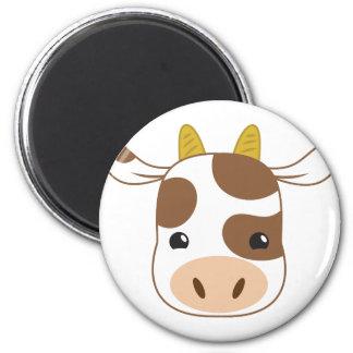 Imã cara bonito da vaca