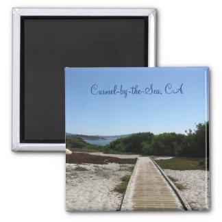 Imã Carmel-por--Mar, CA - trajeto ao oceano