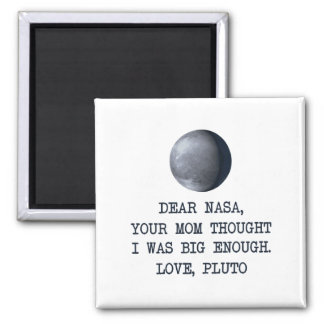 Imã Caro amor Pluto da NASA