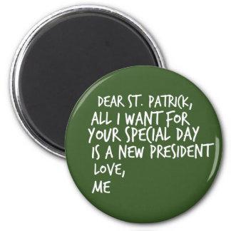 Imã Caro presidente novo de St Patrick
