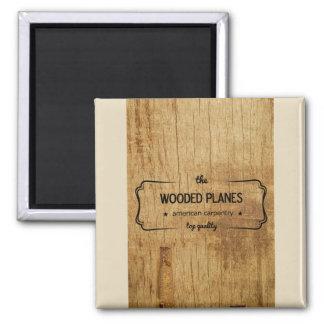 Imã carpintaria plana arborizada