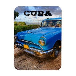 Ímã Carro clássico americano velho em Trinidad, Cuba
