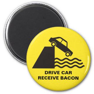 Imã Carro da movimentação - receba o bacon