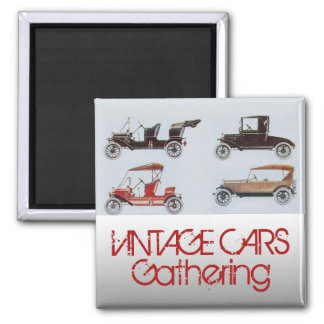 Imã Carros vintage que recolhem o automóvel clássico