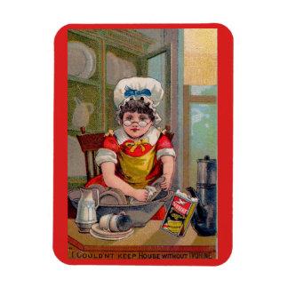 Ímã Cartão de comércio do Victorian para o sabão de