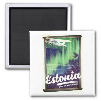 Imã Cartaz da aventura da aurora boreal de Estónia