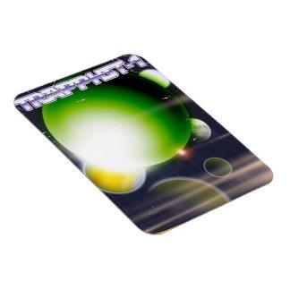 Ímã Cartaz da ficção científica TRAPPIST-1