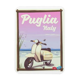 Ímã Cartaz do viagem de Puglia Italia