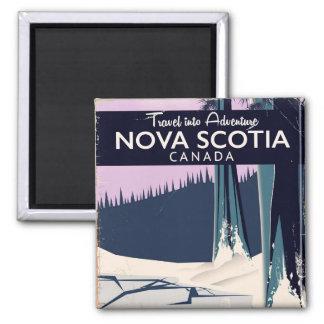 Imã Cartaz do viagem do feriado de Nova Escócia,