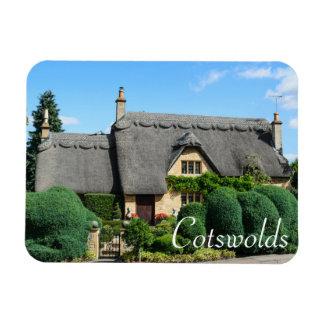 Ímã Casa de campo do telhado Thatched no Cotswolds