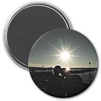 Imã Casal no ímã da foto de Cape Cod do amor