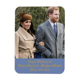Ímã Casamento real do príncipe Harry & Meghan Markle