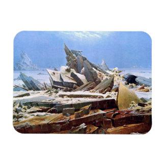 Ímã CASPAR DAVID FRIEDRICH - o mar do gelo 1824