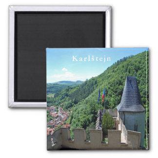 Imã Castelo de Karlstejn. Paisagem