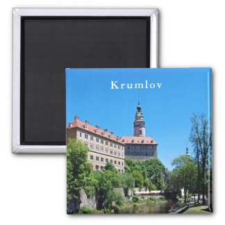 Imã Castelo de Krumlov. Vista 2.