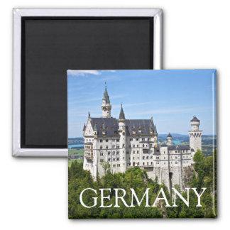 Imã Castelo de Neuschwanstein, Baviera, ímã de